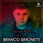 KLUBCAST0020 - Special Guest BRANCO SIMONETTI